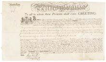 THOMAS McKEAN & TIMOTHY MATLACK Document Signed