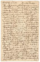 1759 Colonial America Autograph Document Signed GEORGE ROSS