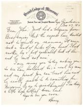 HARRY S. TRUMAN Archive, Masonic Collection of Four Items