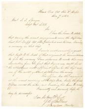 1863 Civil War Date General JOHN HENRY HOBART WARD Autograph Letter Signed