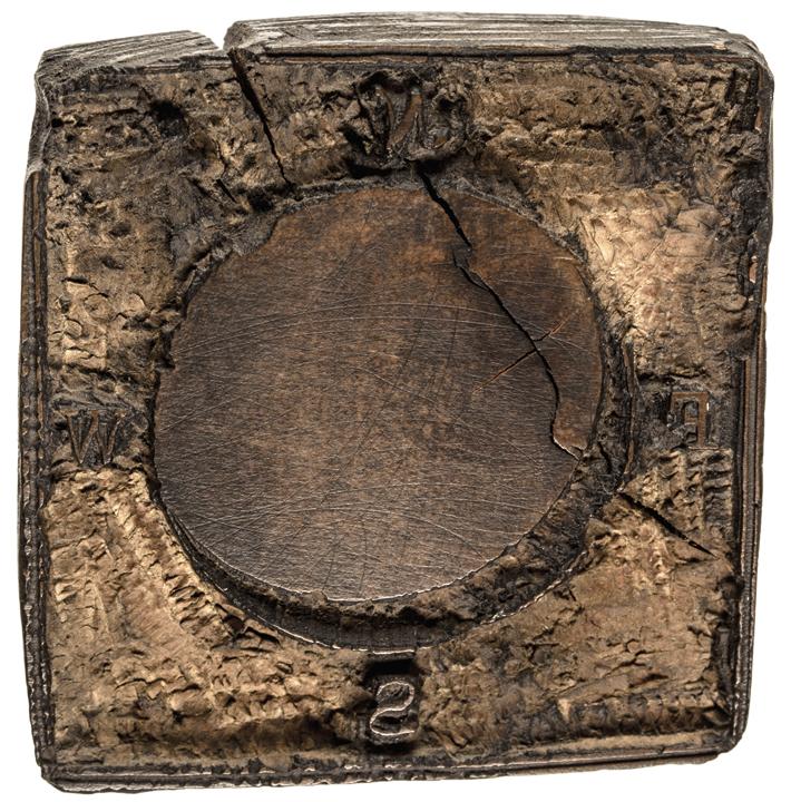 c. 1768-1772 (3) Colonial Printing WOODBLOCKS by Mein & Fleeming, Sower, + Green