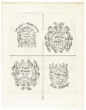 Colonial Currency. NH. 1742. Original Plate Face Sheet. Cohen Reprint