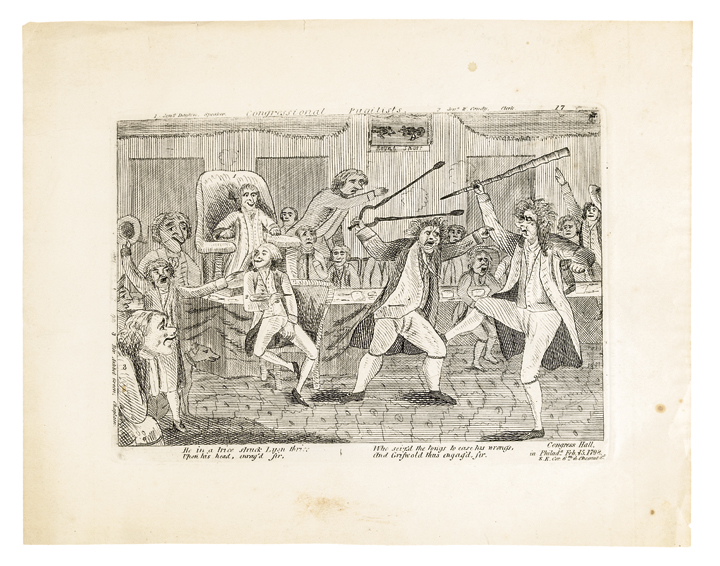 Early 1800s Historic Print