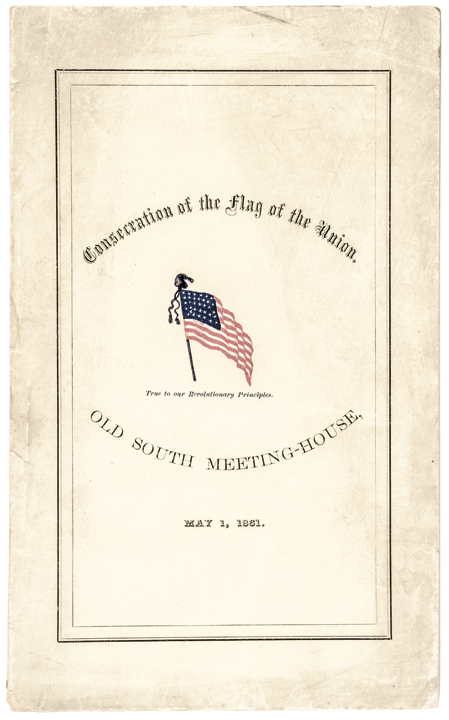 Civil War Date Printed Booklet