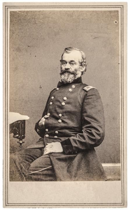 CDV Union Major General SAMUEL HEINTZELMAN by Brady