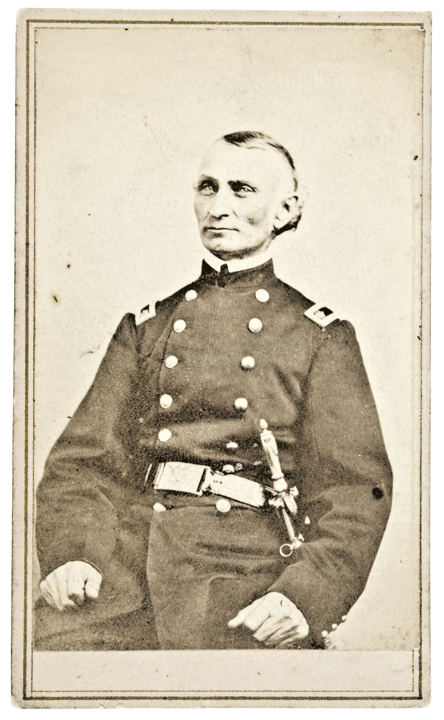 Carte de Visite Photograph of Civil War Union Major John Welch