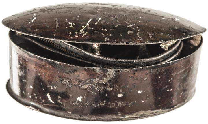 c. 1860s Civil War Era Artillery Soldier's Screen-Side Glasses with Case