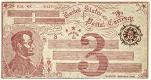 Postal Currency Envelope1869 Fisk Mills 3