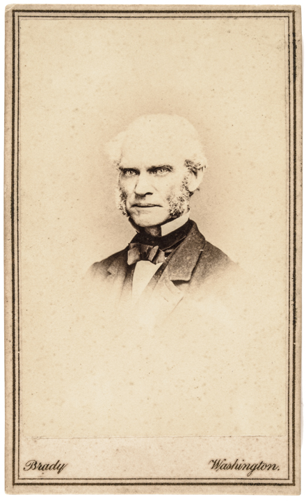 Joseph Bailey Who Signed the 13th Amendment Carte de Visite Photo by Brady