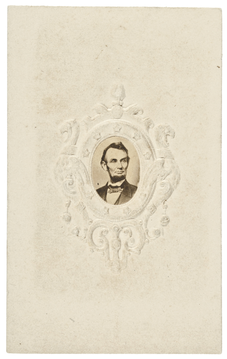 Carte de Visite Photograph of Abraham Lincoln