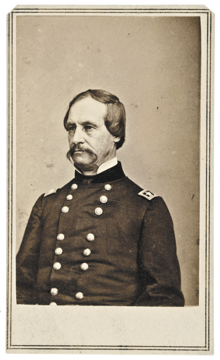Carte-de-Visite of Union General David Hunter, by Anthony from Brady Negative