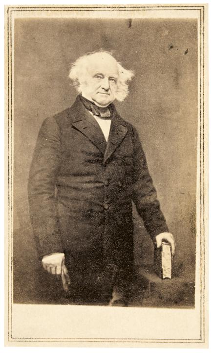 c. 1860 Rare President Martin Van Buren, Mathew Brady, Carte de Visite