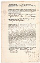 Royal Governor of Colonial Massachusetts THOMAS HUTCHINSON, 1760 Document Signed