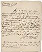 GEORGE CLARKE Rare Autograph Document Signed 1726
