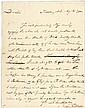 JOHN FRANCIS MERCER 1792 Autograph Letter Signed as US Congress Representative