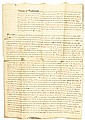 Autograph, LORD JEFFERY AMHERST. 1796-Dated, Manuscript Document Signed Twice