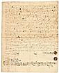 JONATHAN CORWIN, SALEM WITCH TRIALS Judge, 1705 Salem + STEPHEN SEWELL Signed