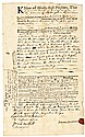 1764 JOSIAH BARTLETT Signer of the Declaration of Independence Document Signed
