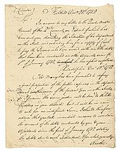 1782 Continental Army Quartermaster General HUGH HUGHES Autograph Letter Signed