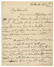 WILLIAM HOWE Revolutionary War Commander-in-Chief of British Forces 1778 ALS