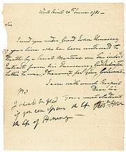 1781 Rev. War Continental Army Soldier DEATH Sentence Major Gen. ROBERT HOWE