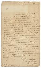 American Major General HORATIO GATES 1777 Rev. War Letter to GEORGE WASHINGTON