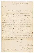 1780 Brigadier General MOSES HAZEN Court Martial Trial of ISAAC TICHENOR, Gov VT