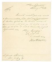 JOHN ARMSTRONG (1758-1843). President James Madison's Secretary of War
