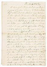 ISRAEL PUTNAM April 1777 Revolutionary War Letter to General Benjamin Lincoln