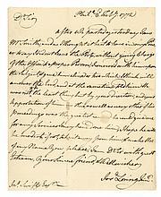 1772, JOSHUA LORING Jr, Letter Signed Contemptible Boston Tory British Loyalist