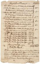 GEORGE CLINTON Governor NY Signed 1778 Revolutionary War Lottery Ticket Document