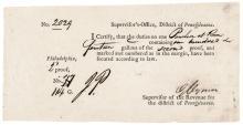 GEORGE CLYMER, Signer of Declaration of Independence Signed Port Form