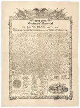 Declaration of Independence Broadside