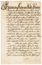 1756 KING GEORGE II of England Christmas Greeting Manuscript Letter Signed