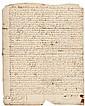 1762 LEWIS MORRIS, Signer: Declaration of Independence, Signed Manuscript Deed