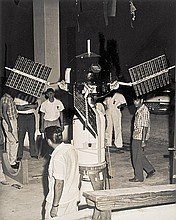 c 1959 EXPLORER SATELLITES ARCHIVE Explorer VI Original Space Race Program