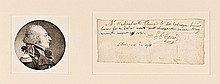 EDMOND CITIZEN GENET, Autograph Note Signed, French Ambassador 1831
