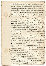 Autograph, JOHN JAY Signed 1772 New York City Manuscript Land Indenture
