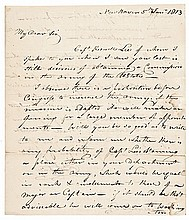 ELI WHITNEY War of 1812 Autograph Letter Signed with Military Ordinance Content!