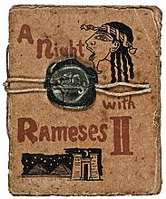 c. 1880, Encased Postage Merchant, Ayer's Sarsaparilla Advertising Booklet