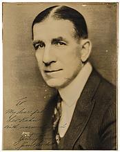 JAMES J. (GENTLEMAN JIM) CORBETT, Inscribed and Signed Photograph