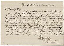 PHINEAS TAYLOR BARNUM Autograph Letter Signed