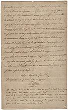 1805 THOMAS JEFFERSON Autograph Endorsement As United States President