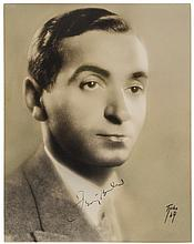 IRVING BERLIN Signed Handsome Head-and-shoulders Portrait Photograph