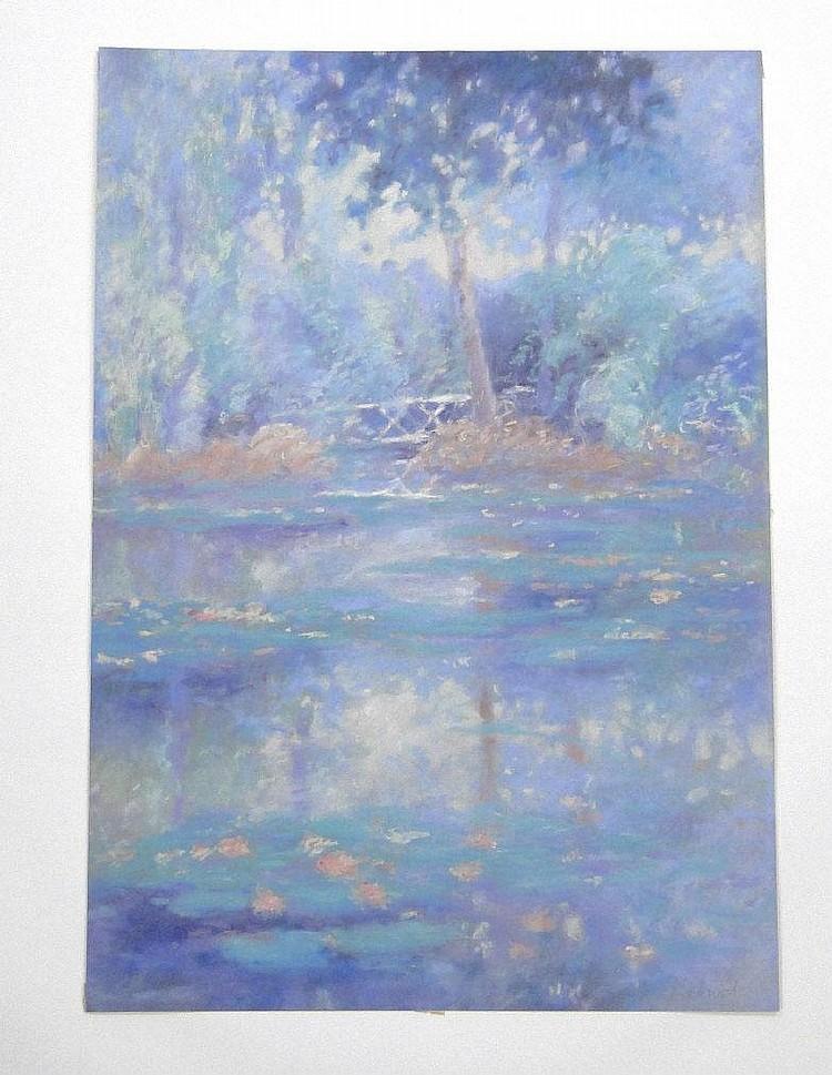 Roy Fairchild Woodard - Bridge over Lilies -