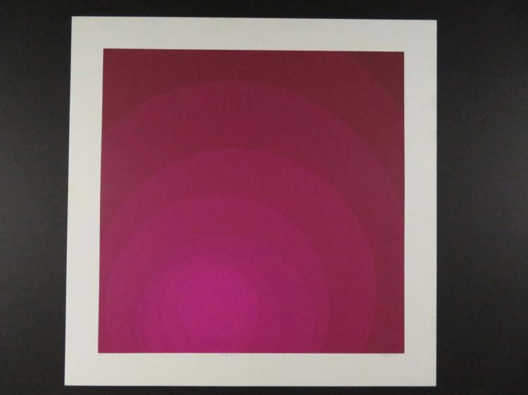 Neil Korpi Modern Print Purple