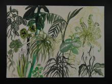 Carol Ann Dvorak Landscape with Flowers