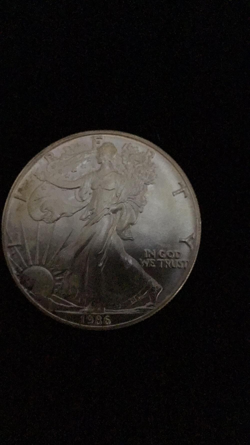 1986 American eagle