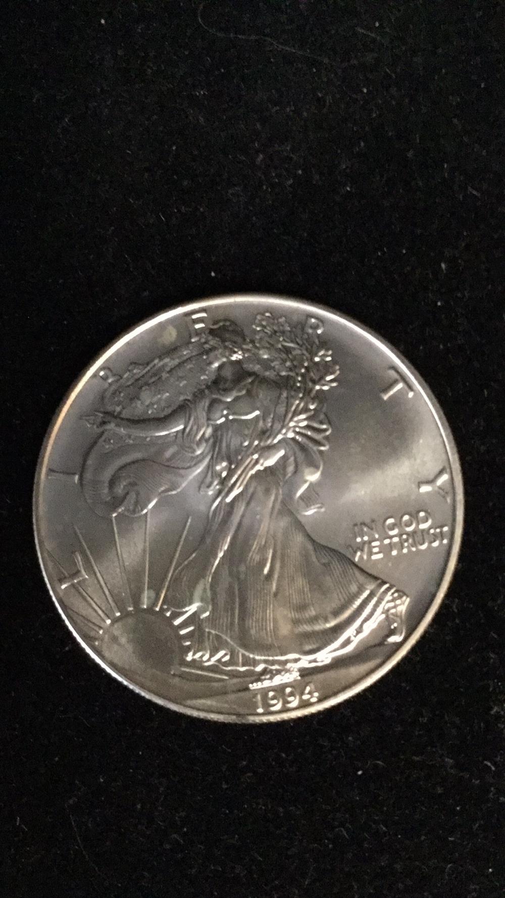Lot 12: 1994 American eagle