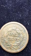 Lot 15: Large coronet one cent piece